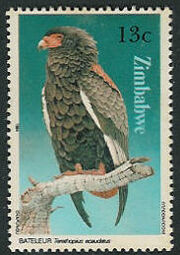 Zimbabwe 1984 Birds of prey c