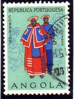 Angola 1957 Indigenous Peoples of Angola c