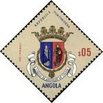 Angola 1963 Coat of Arms - (1st Serie) a