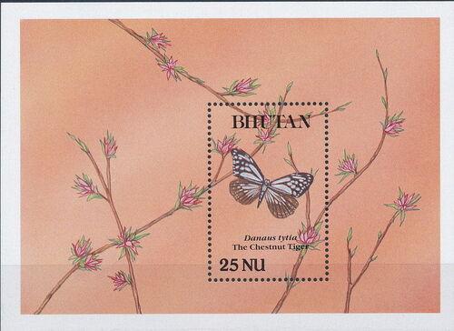 Bhutan 1990 Butterflies q