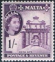 Malta 1956 Elizabeth II k