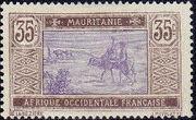 Mauritania 1913 Pictorials j