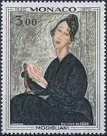 Monaco 1970 50th Anniversary of the Death of Modigliani a