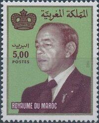Morocco 1983 King Hassan II e