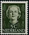Netherlands 1949 Queen Juliana - En Face (1st Group) a.jpg