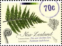 New Zealand 2013 New Zealand Native Ferns a