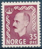 Norway 1951 King Haakon VII b