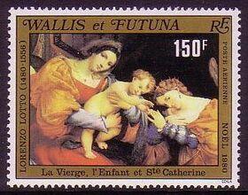 Wallis and Futuna 1980 Christmas a