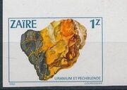 Zaire 1983 Minerals o