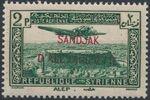 "Alexandretta 1938 Air Post Stamps of Syria (1937) Overprinted ""SANDJAK D'ALEXANDRETTE"" in Red or Black c"
