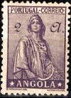 Angola 1932 Ceres - New Values p