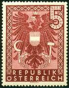 Austria 1945 Coat of Arms w