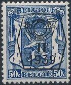 Belgium 1939 Coat of Arms - Precancel (2nd Group) f