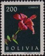 Bolivia 1962 Flowers a