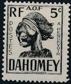 Dahomey 1941 Carved Mask a