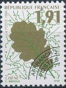 France 1994 Leaves - Precanceled a