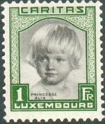 Luxembourg 1931 Princess Alix c