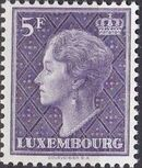 Luxembourg 1958 Grand Duchess Charlotte (5th Group) d