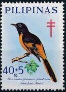 Philippines 1969 Philippine Tuberculosis Society - Birds d