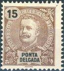 Ponta Delgada 1897 D. Carlos I d