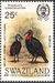 Swaziland 1985 WWF Southern Ground Hornbill (Audubon birth bicentenary) a