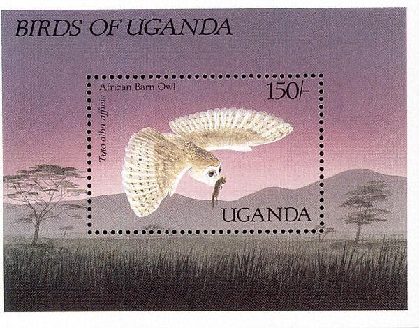 Uganda 1987 Birds of Uganda j