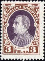 Albania 1925 President Ahmed Zogu j