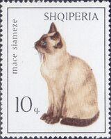 Albania 1966 Cats a