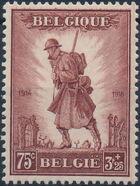 Belgium 1932 Belgian Soldiers in WWI a