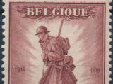 Belgium 1932 Belgian Soldiers in WWI