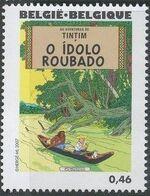 Belgium 2007 Tintin book covers translated f