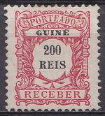 Guinea, Portuguese 1904 Postage Due Stamps i