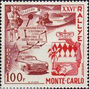 Monaco 1956 26th Monte Carlo Automobile Rally a