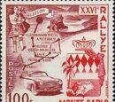 Monaco 1956 26th Monte Carlo Automobile Rally