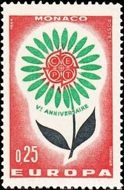Monaco 1964 Europa a