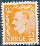 Norway 1951 King Haakon VII e