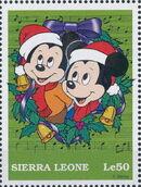 Sierra Leone 1997 Disney Christmas Stamps m