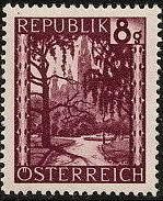 Austria 1946 Landscapes (II) b