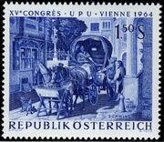Austria 1964 15th UPU Congress in Vienna c