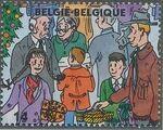 Belgium 1996 Christmas and New Year h