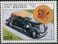 Benin 1997 Antique Automobiles e