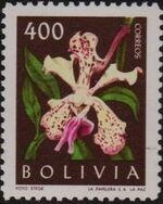 Bolivia 1962 Flowers b
