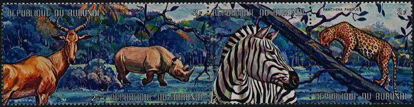 Burundi 1971 Animals ab