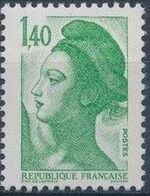 France 1982 Liberty after Delacroix (1st Issue) i