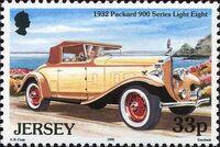Jersey 1992 Vintage Cars d