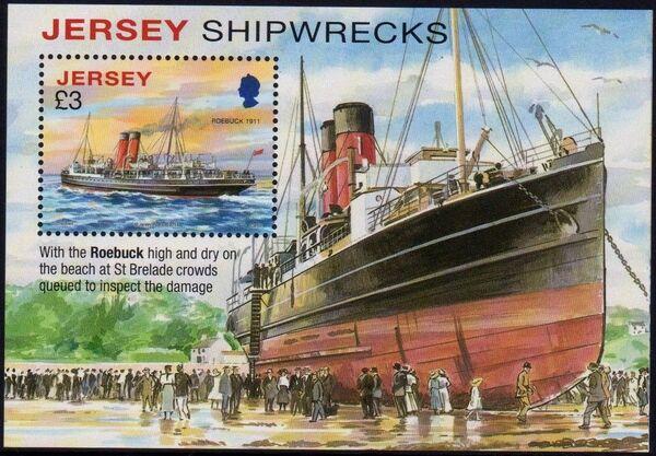 Jersey 2011 Shipwrecks g
