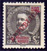 Lourenço Marques 1911 D. Carlos I Overprinted n