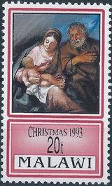 Malawi 1993 Christmas a