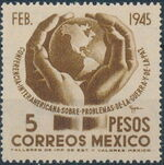 Mexico 1945 Inter-American Conference (Regular Mail) c