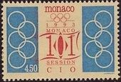 Monaco 1993 101st Session International Olympic Committee p